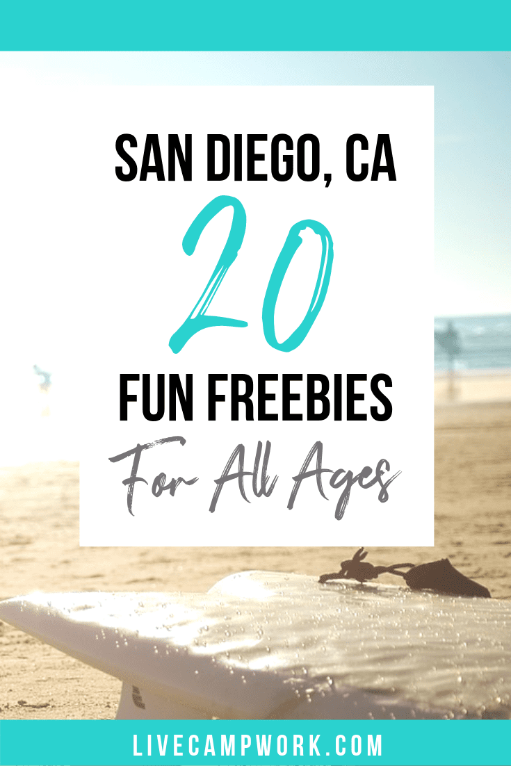 Looking for fun FREE places to go and things to see in San Diego, California this summer? Check out this quick list of freebies for all ages!