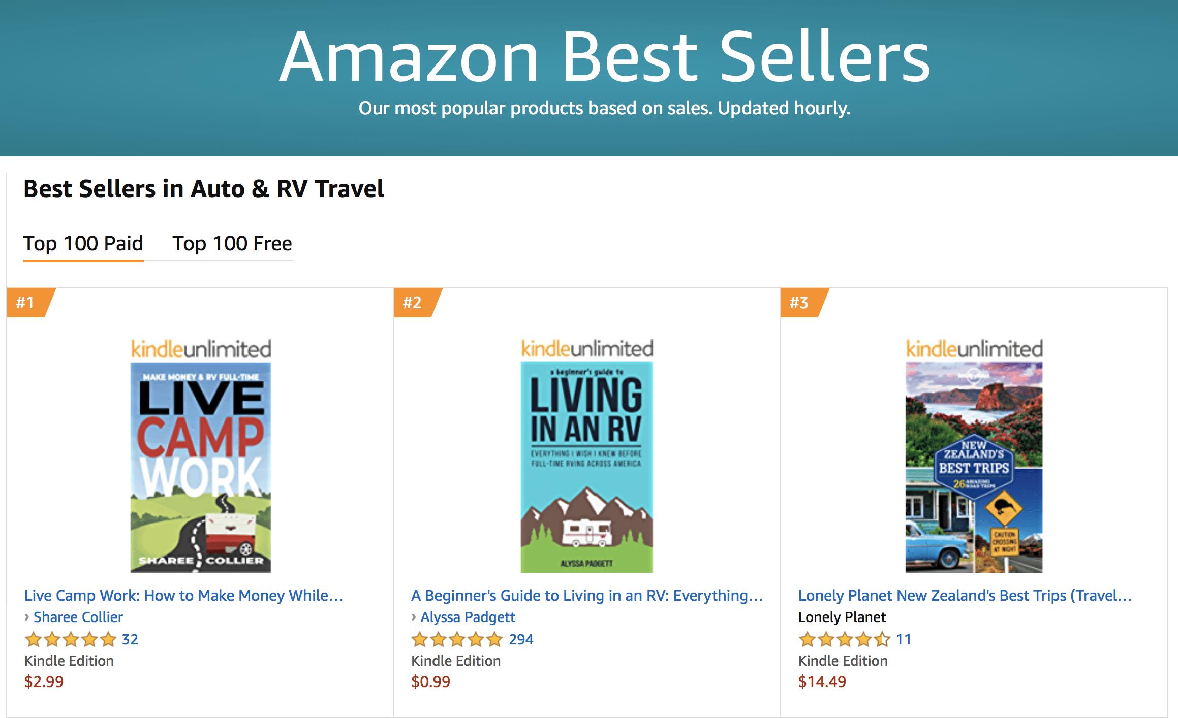 3 Days to Hit Amazon Best Seller