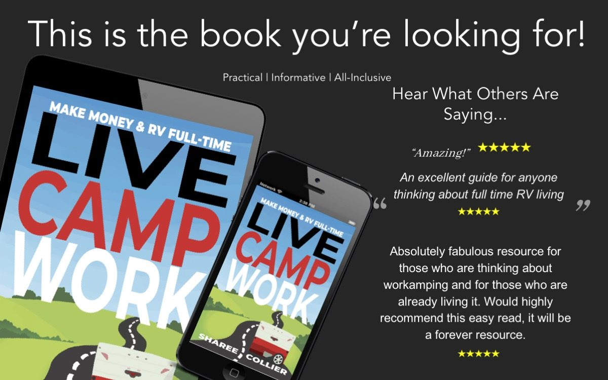 It's Official! Live Camp Work Is On Amazon!