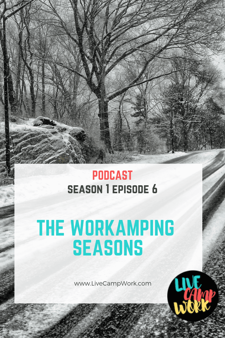 What you need to know about Workamping during the summer camping season as well as the winter. RV jobs are available all year long!