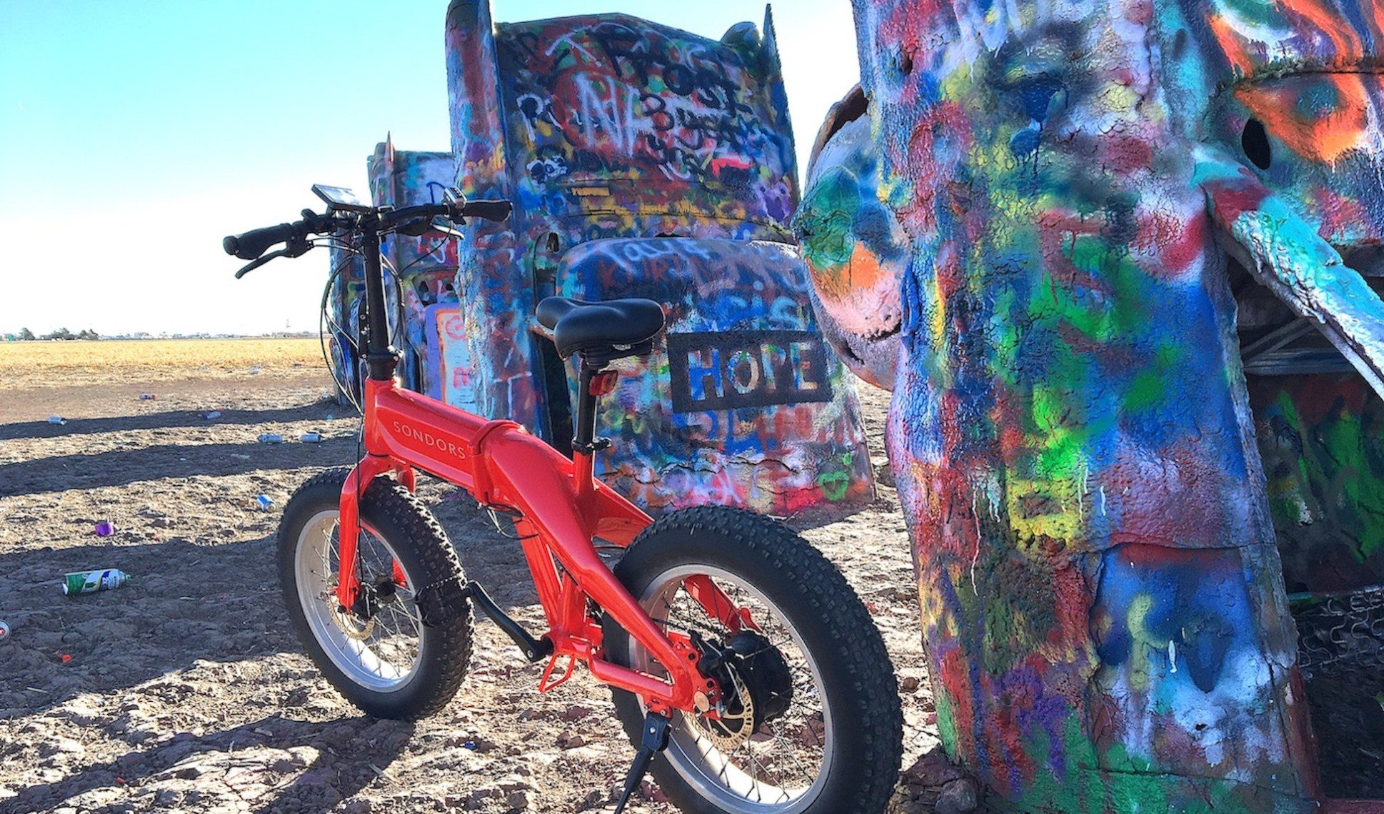 The Cadillac Ranch