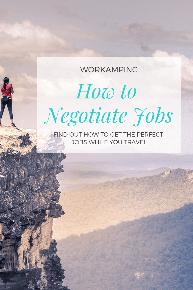Discover the most popular types of Workamping employers, Workamping compensation and Workamping positions- which can all be negotiated if you know what to look out for ahead of your interview.