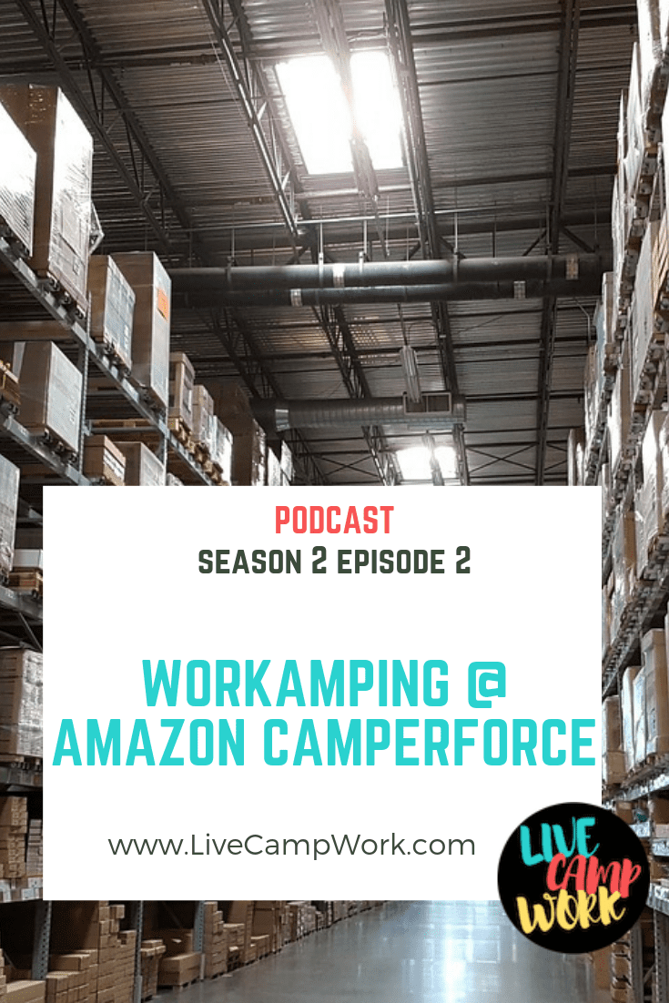 Workamping program by retail giant, Amazon.com known as Camperforce. Dishing a little about my personal experiences, after working the program on 3 separate occasions- I provided specific details on the ins and outs of this program and why RVers return season after season.