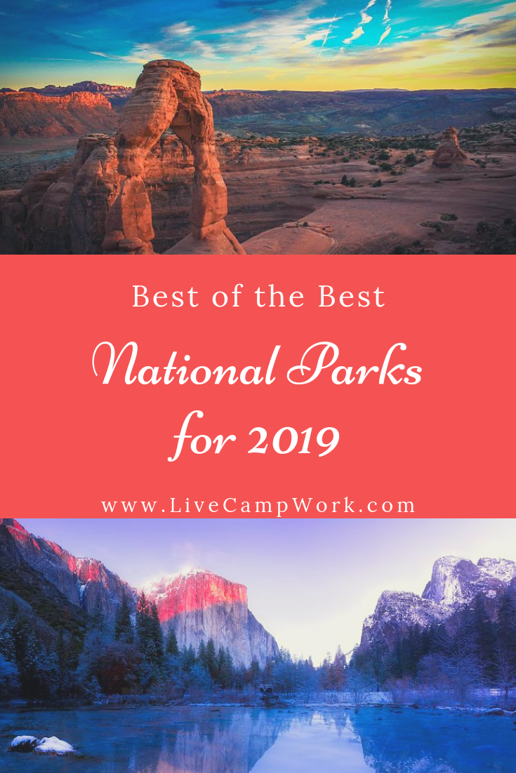 Make your road trips plans to check out these 7 amazing National Parks this year! Great for travelers, campers and RVers looking for road trip ideas!