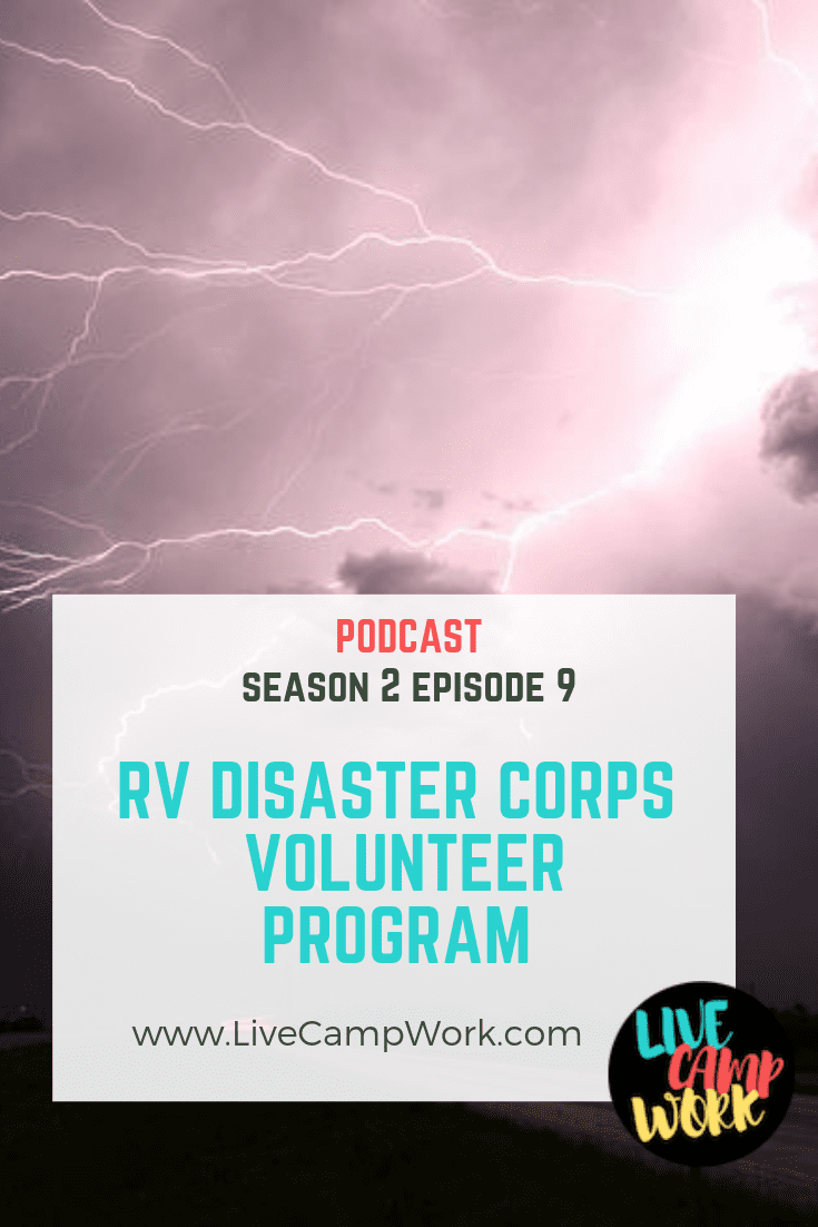 Have some time you'd like to volunteer towards helping a great cause? Consider the RV Disaster Corps Workamping program- where RV volunteers help local communities after a natural disaster!