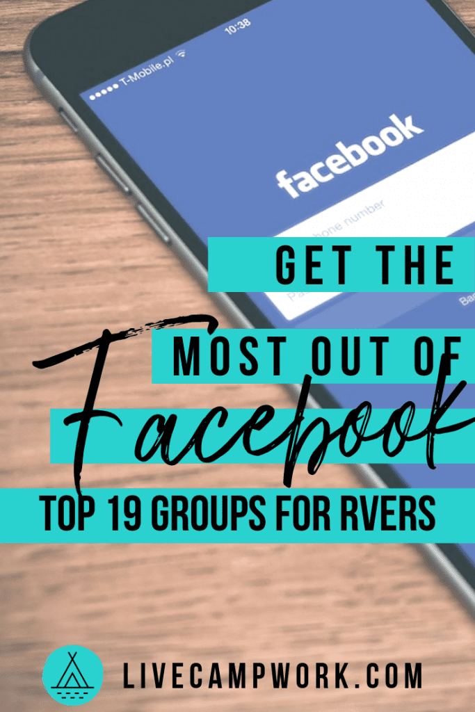 19 Facebook groups for RVers