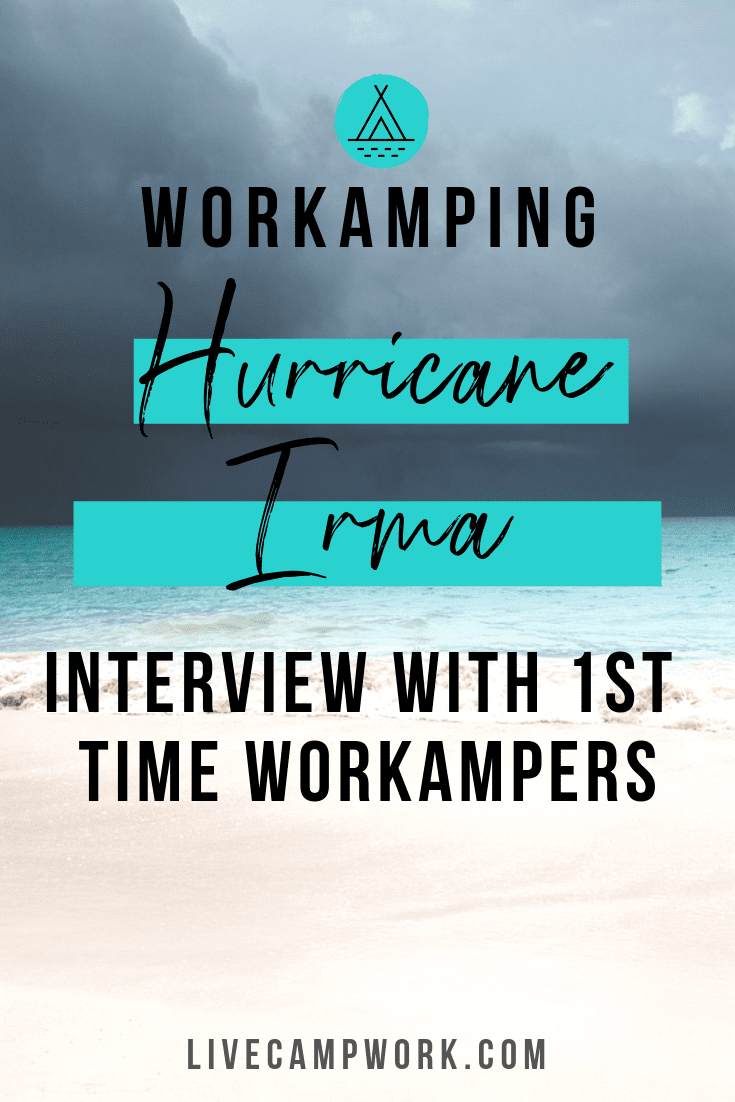 Workamper Interview featuring a 1st time Workamper couple who accepted their first Workamping job in St. Thomas at a resort.