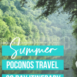 Poconos for the summer!