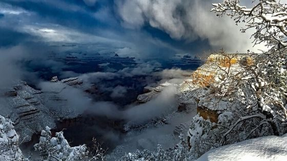 Grand Canyon this winter